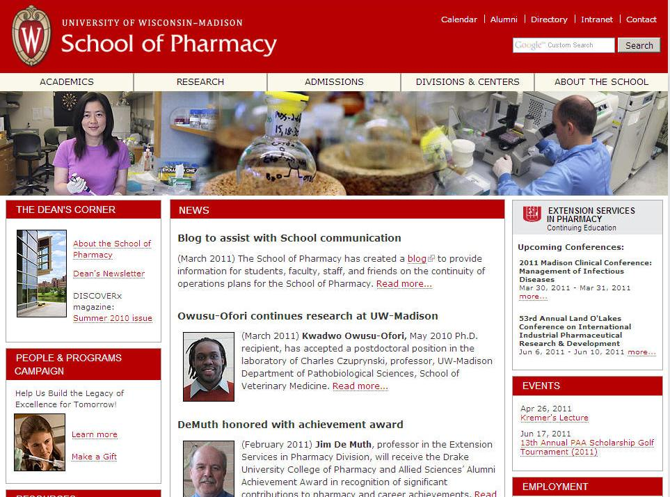 University of Wisconsin-Madison School of Pharmacy