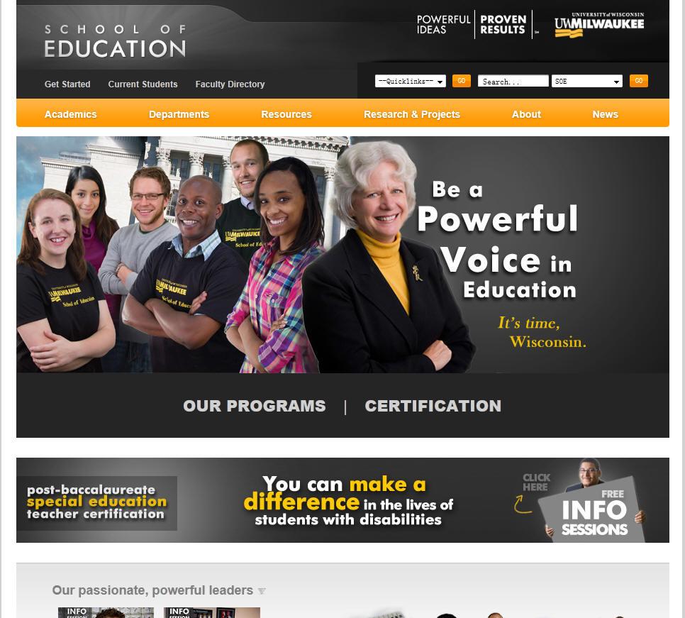 University of Wisconsin Milwaukee School of Education
