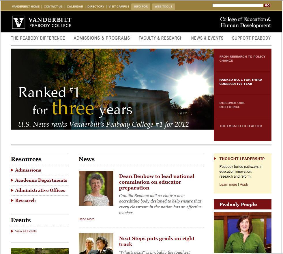 Vanderbilt University College of Education and Human Development