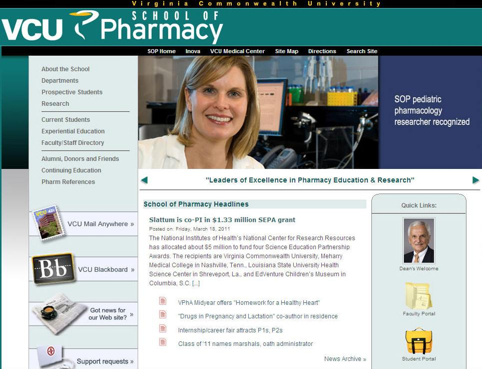 Virginia Commonwealth University School of Pharmacy