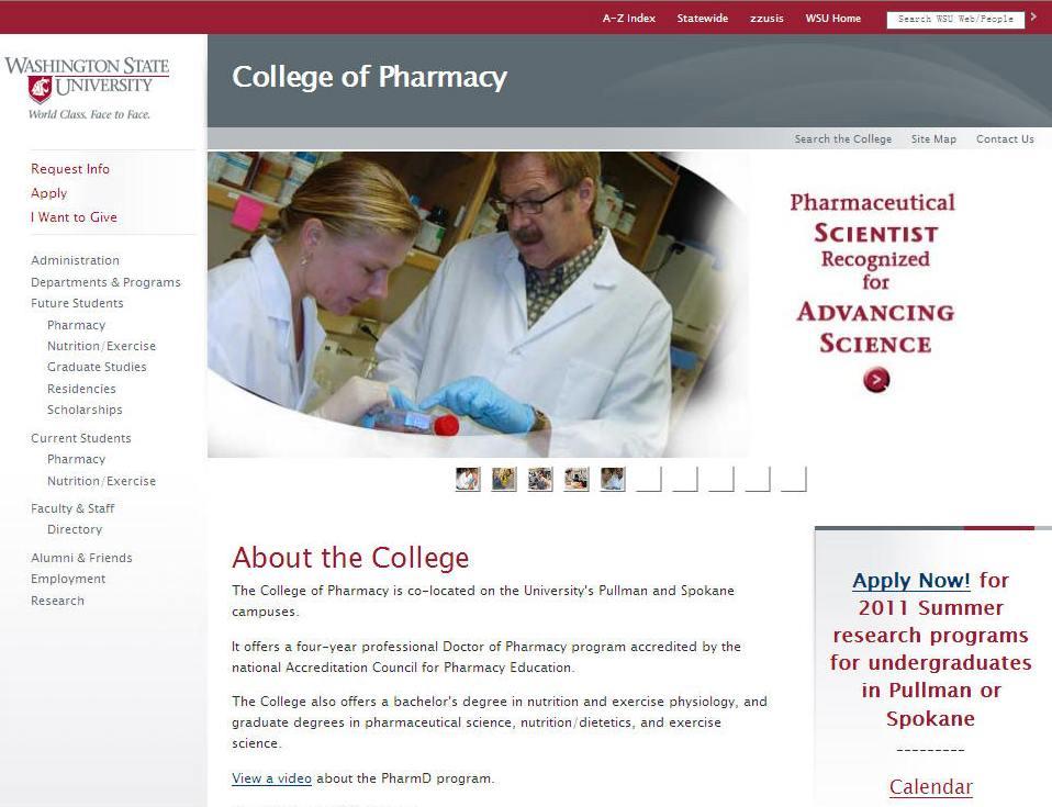 Washington State University College of Pharmacy
