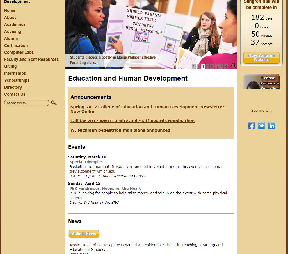 Western Michigan University College of Education and Human Development