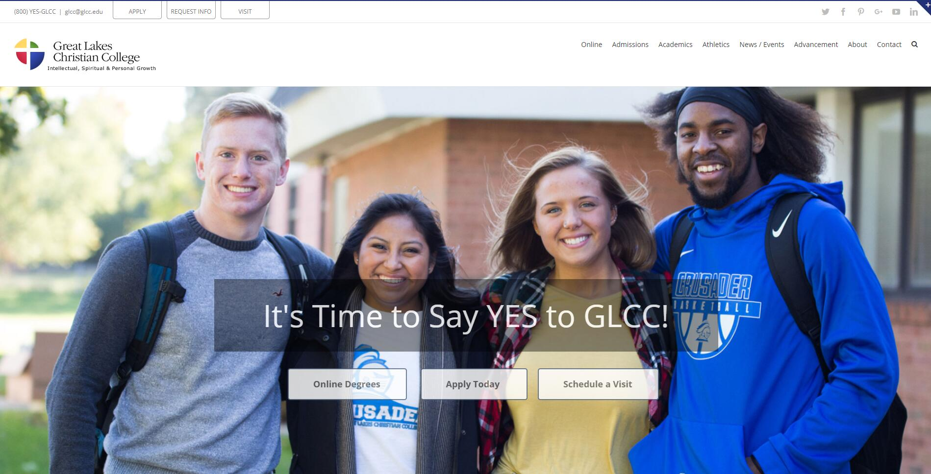 Great Lakes Christian College Acceptance Rate, Average GPA