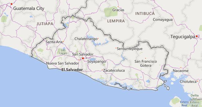 High School Codes in El Salvador