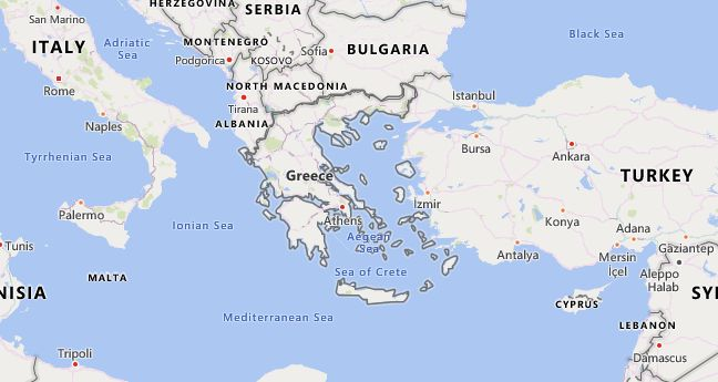 High School Codes in Greece