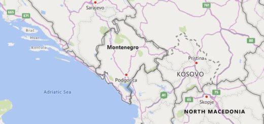 High School Codes in Montenegro