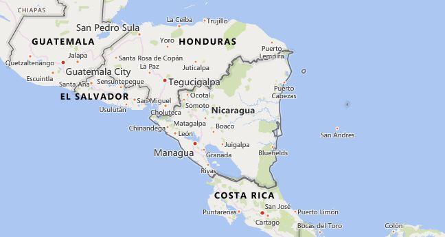 High School Codes in Nicaragua