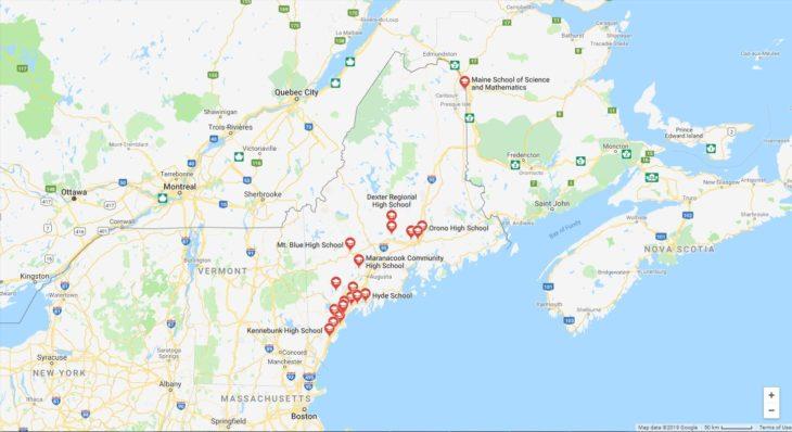 Top High Schools in Maine
