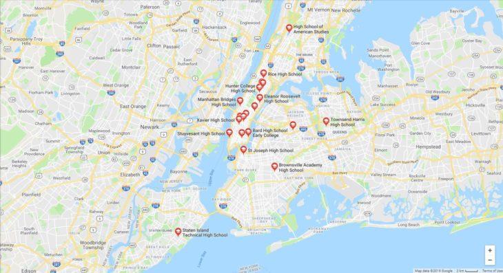Top High Schools in New York