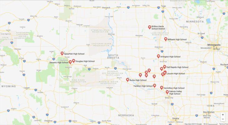 Top High Schools in South Dakota