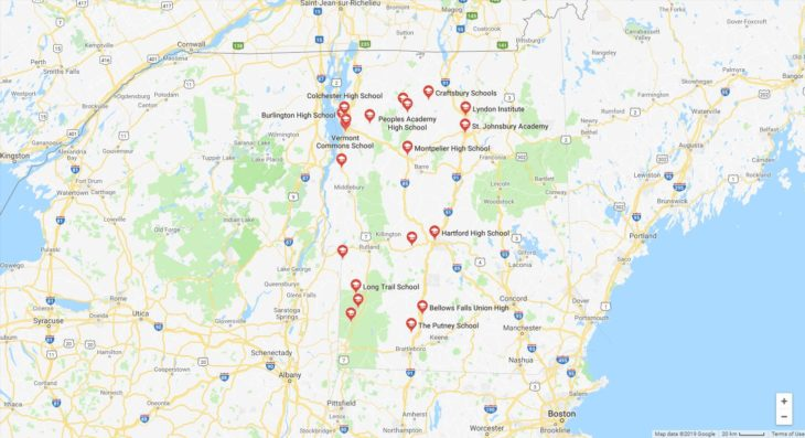 Top High Schools in Vermont