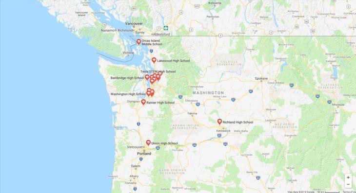 Top High Schools in Washington