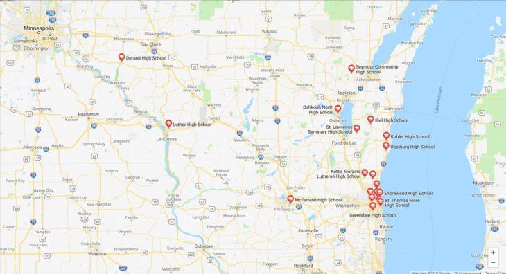 Top High Schools in Wisconsin