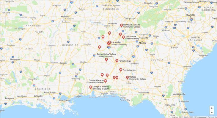 Top Nursing Schools in Alabama