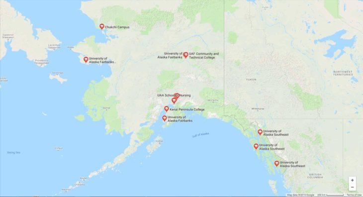 Top Nursing Schools in Alaska