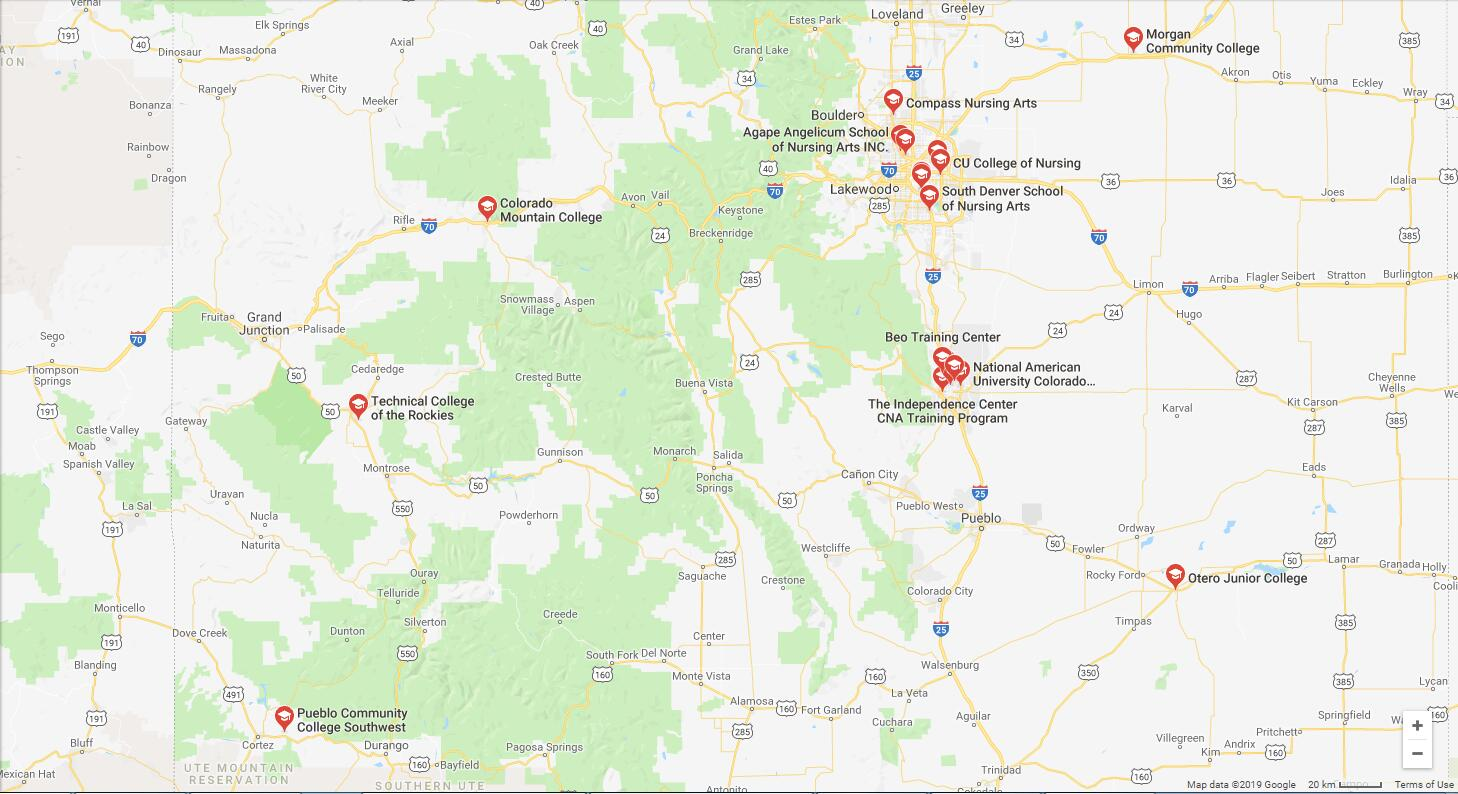 Nursing Schools In Colorado >> Top Nursing Schools In Colorado Microedu Com