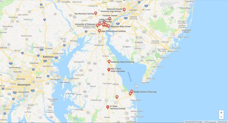 Top Nursing Schools in Delaware