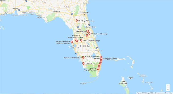 Top Nursing Schools in Florida