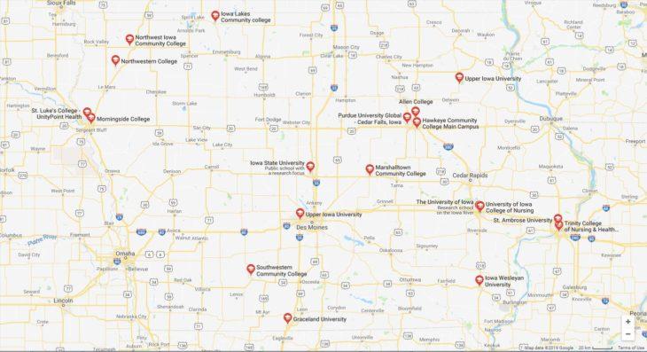 Top Nursing Schools in Iowa