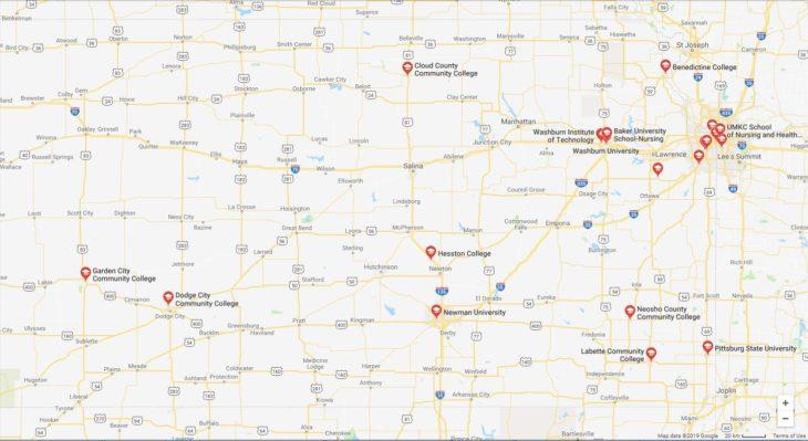 Top Nursing Schools in Kansas