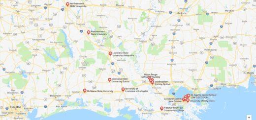 Top Nursing Schools in Louisiana