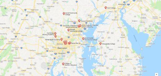 Top Nursing Schools in Maryland