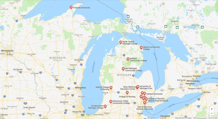 Top Nursing Schools in Michigan