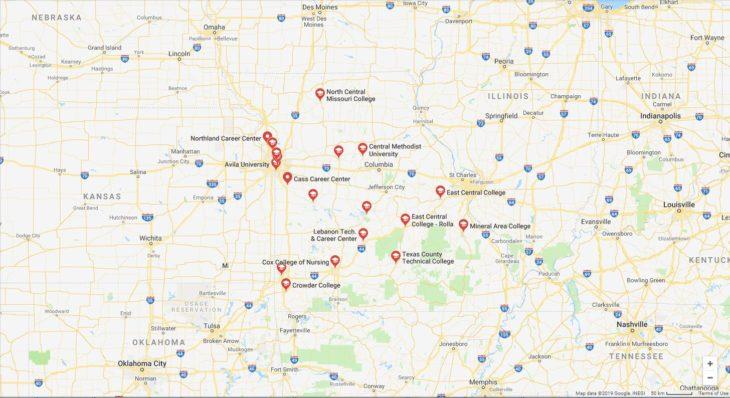 Top Nursing Schools in Missouri