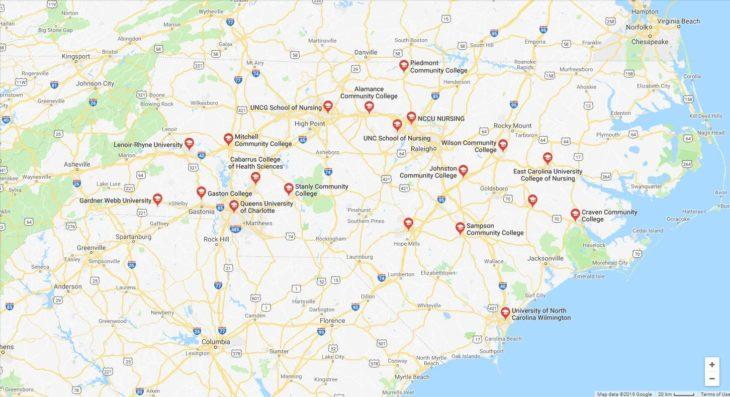 Top Nursing Schools in North Carolina