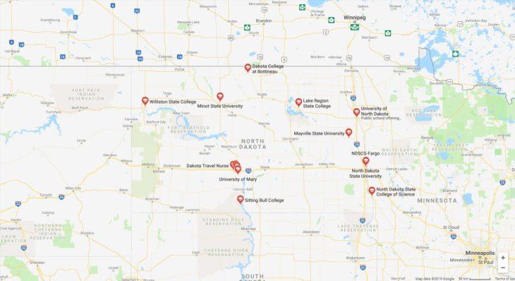 Top Nursing Schools in North Dakota