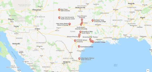 Top Nursing Schools in Texas
