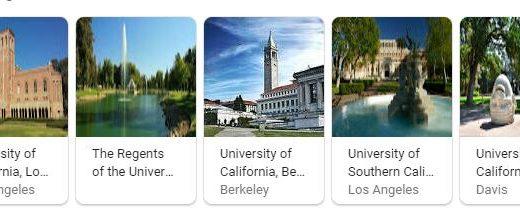 Top Universities in California