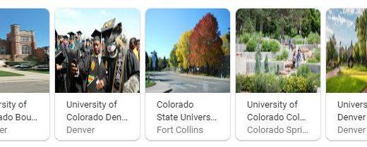 Top Universities in Colorado