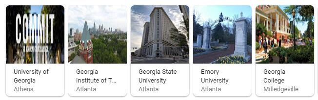 Top Universities in Georgia