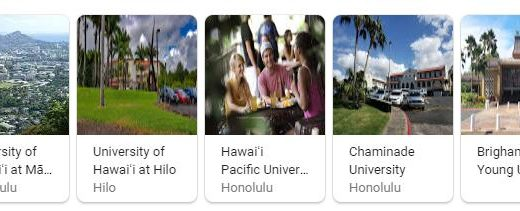 Top Universities in Hawaii