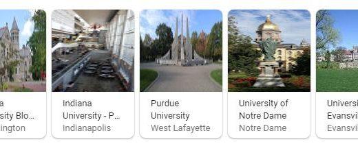 Top Universities in Indiana
