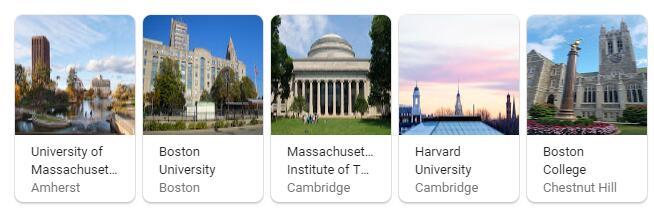 Top Universities in Massachusetts