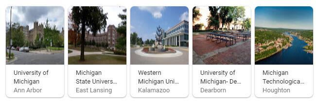 Top Universities in Michigan
