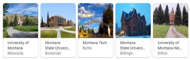 Top Universities in Montana