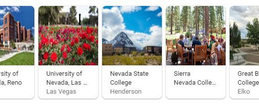 Top Universities in Nevada
