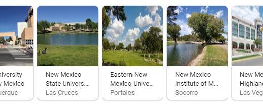 Top Universities in New Mexico