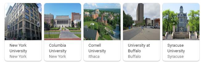 Top Universities in New York