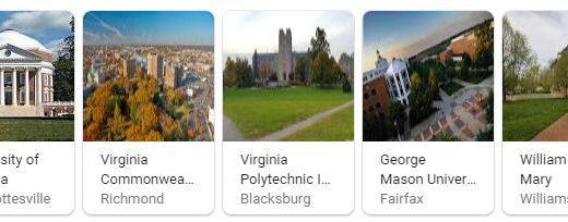 Top Universities in Virginia