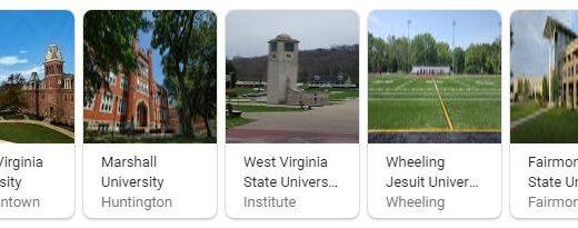 Top Universities in West Virginia