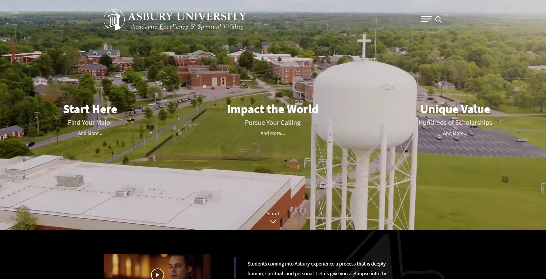 Asbury University Acceptance Rate, Average GPA, SAT and ACT