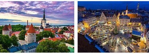 Attractions in Estonia