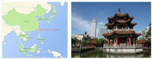 Taiwan Human Geography